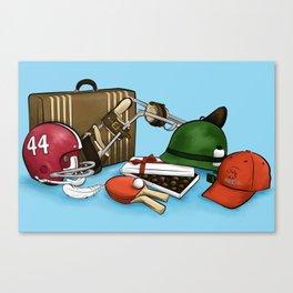 Life's Like A Box Of Chocolates Canvas Print