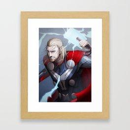 Thor 2 - Thor Print Framed Art Print