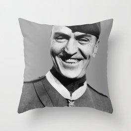 Eddie Rickenbacker Throw Pillow