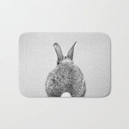 Rabbit Tail - Black & White Bath Mat