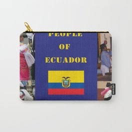 The People of Ecuador, Collage Carry-All Pouch