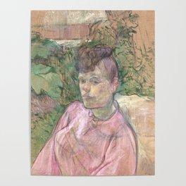 "Henri de Toulouse-Lautrec ""Woman in the Garden of Monsieur Forest"" Poster"