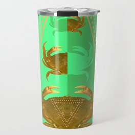 symetric crab Travel Mug