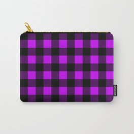 Purple Black Pattern  Carry-All Pouch