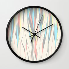 nude colour fall Wall Clock