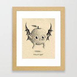 Fruit Bat Framed Art Print