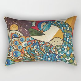 Dawn Breaking Rectangular Pillow
