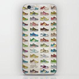i love dunks iPhone Skin