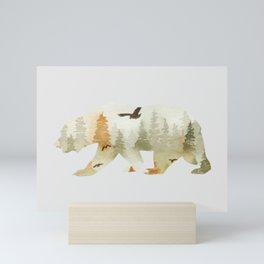 Forest Bear Mini Art Print
