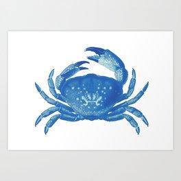 BLUE CRAB Art Print