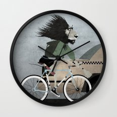 Alleycat Races Wall Clock