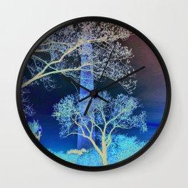 DC Blossom  Wall Clock