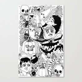 Halloween 2016 Canvas Print