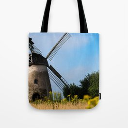 North German windmill from old time Tote Bag