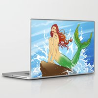 ariel Laptop & iPad Skins featuring ARIEL by Ismael Álvarez