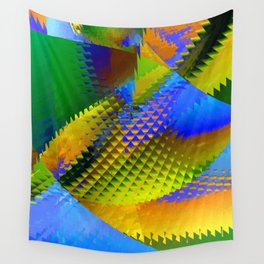 Daily Design 96 - Slowly Sinking Your Teeth Into A Pineapple Chunk Wall Tapestry