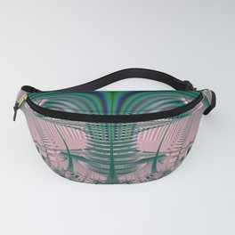 Fractal Abstract 95 Fanny Pack