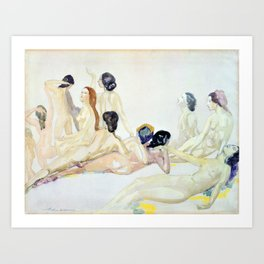 Eleven Nudes - Arthur Bowen Davies Art Print