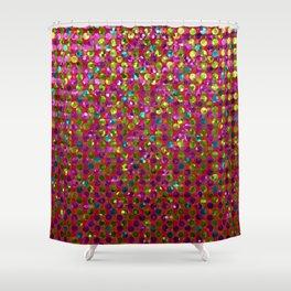 Polka Dot Sparkley Strass G266 Shower Curtain