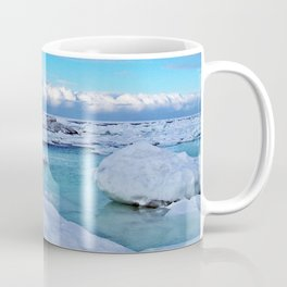 Frozen, and clouds on the Horizon Coffee Mug