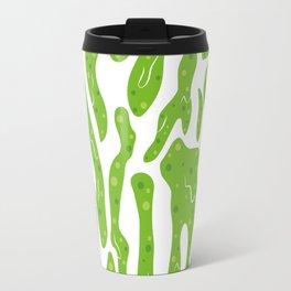 Splattered Slime [WHITE] Travel Mug