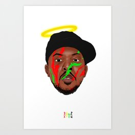 All Dawgs Go To Heaven Art Print