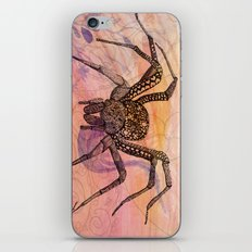 Along Came a Spider iPhone Skin