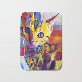 Bengal Cat Bath Mat