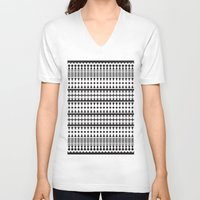 indian V-neck T-shirts featuring indian by Printoria