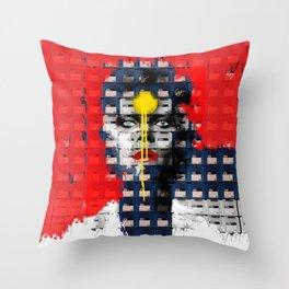 Disk Head 1 Throw Pillow
