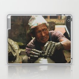 The Locals of Kathmandu City 002 Laptop & iPad Skin
