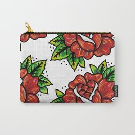 Traditional Rose Carry-All Pouch
