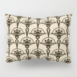 Seamless antique pattern art deco stylish print Pillow Sham