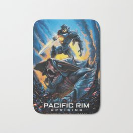 Pacific Rim Uprising 2018 And Monster Bath Mat
