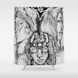 Witches/Enchantment Shower Curtain