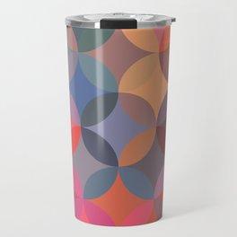Moroccan pattern multicolor Travel Mug