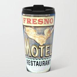 Motel Drive / Fresno Motel Sign Travel Mug