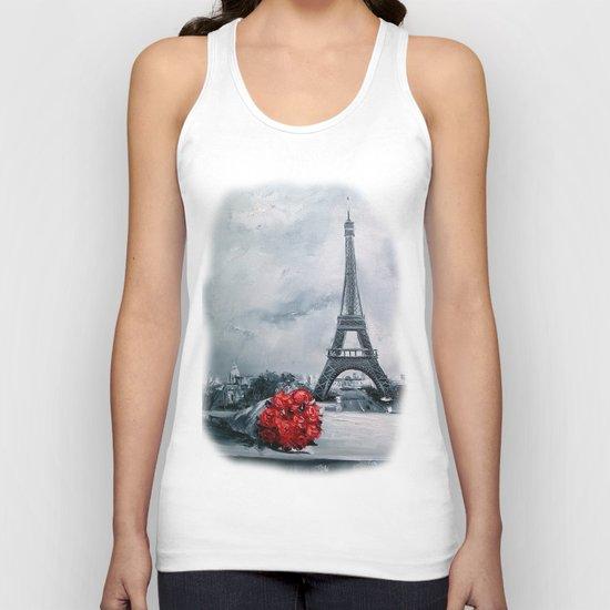 Bouquet for Parisienne Unisex Tank Top