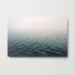 Lost In The Fog Metal Print