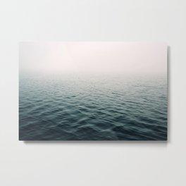 Lost In The Fog Metal Print