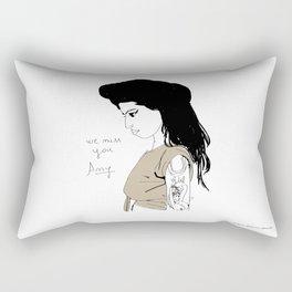We miss you Amy Rectangular Pillow