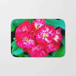 Flowers_109 Bath Mat