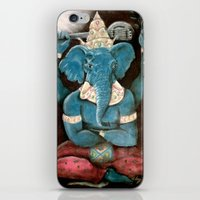 ganesh iPhone & iPod Skins featuring ganesh by Michael Anthony Alvarez