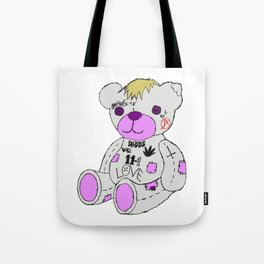Sad Bear Tote Bag