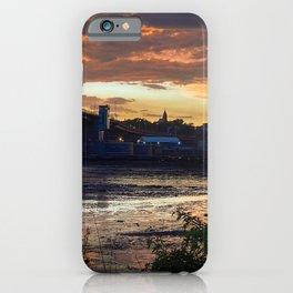 July Sunset on Casco Bay (5) iPhone Case