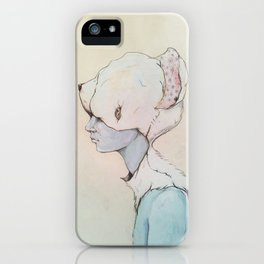 Portrait E iPhone Case