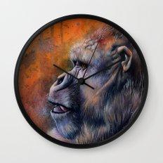 Gorilla: The Portrait of a Stolen Voice Wall Clock
