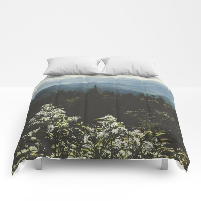 Smoky Mountains - Nature Photography Comforters