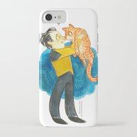 data iPhone & iPod Cases featuring Data Hug by Super Group Hugs