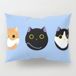 Cat Dango Blue:Yema,Duke and Maki Pillow Sham